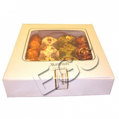 Mix Mithai from Marriott Hotel delivery to Pakistan