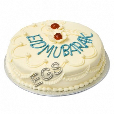 2lbs Eid Day Cake delivery to Pakistan