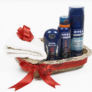 Nivea Hamper For Him delivery to Pakistan