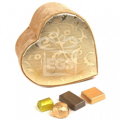 Patchi Golden Heart Box 1000 Grams - Patchi Chocolate