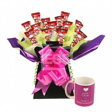Anniversary Kit Kat Bouquet