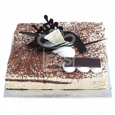 2lbs Tiramisu Cake From Serena Hotel delivery to Pakistan
