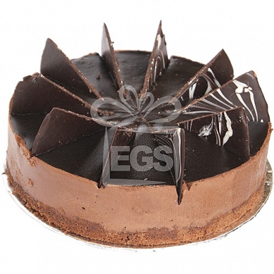 3.5lbs Chocolate Mousse Cake from Masoom Bakers delivery to Pakistan