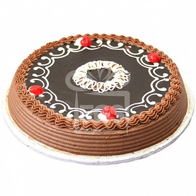 2lbs Dark Chocolate Cake FromTehzeeb Bakers delivery to Pakistan