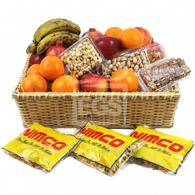 Delightful Combinations Fruit Hamper