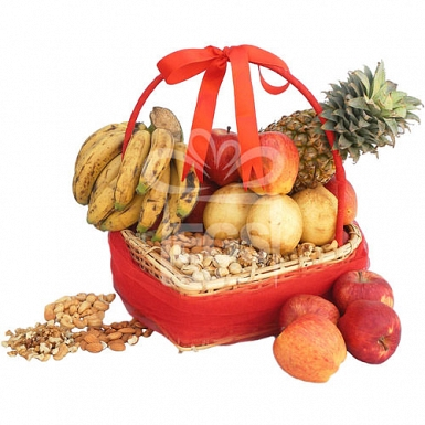 Double Fruits basket delivery to Pakistan