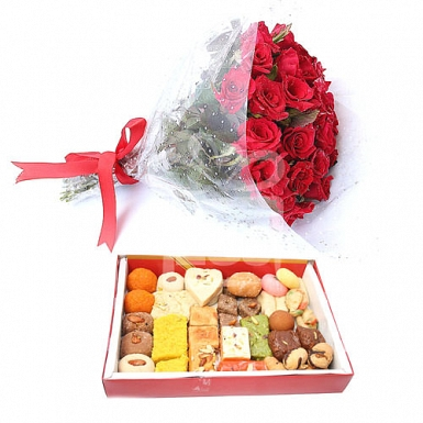 Exclusive Flowers and Mithai