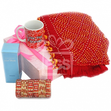 Exclusive Valentine Gift Hamper for Her