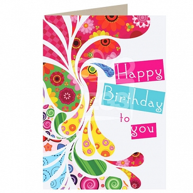 Happy Birthday - Personalised Cards