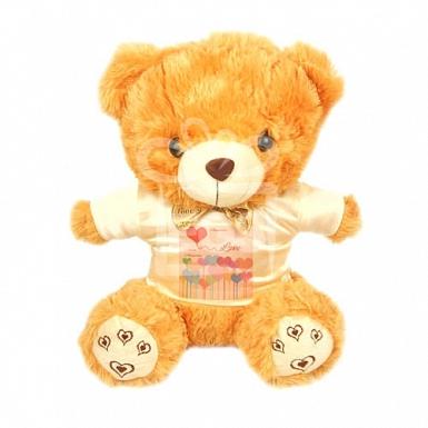 Love Heart Balloon - Personalised Bear