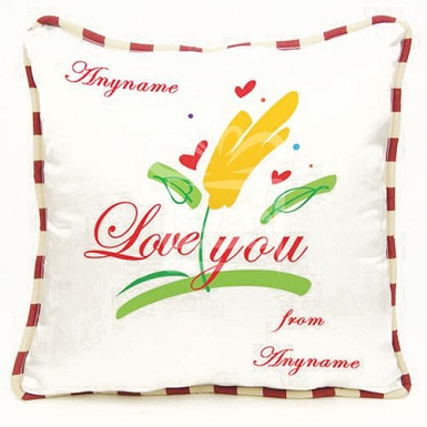 Love You -Personalised cushion
