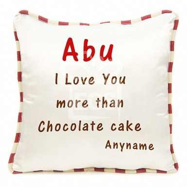 Love Abu - Personalised Cushion