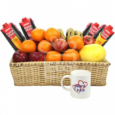 Loving Dad Fruit Basket