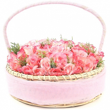 Pink Softeners Basket