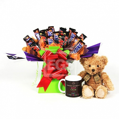 Snickers and Mars Bouquet Gift