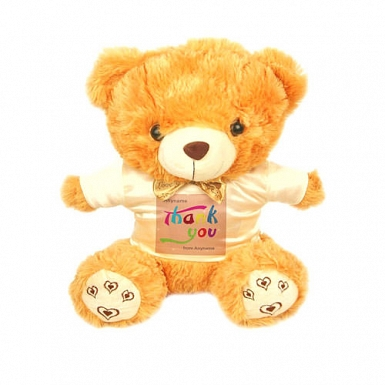 Thank You - Personalised Bear