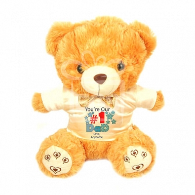 You are No1 Dad - Personalised Bear