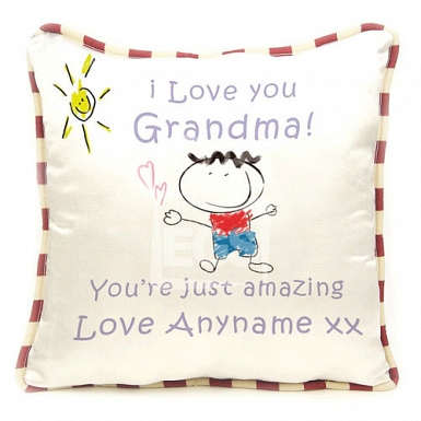Grandma You Are Amazing - Personalised Cushion