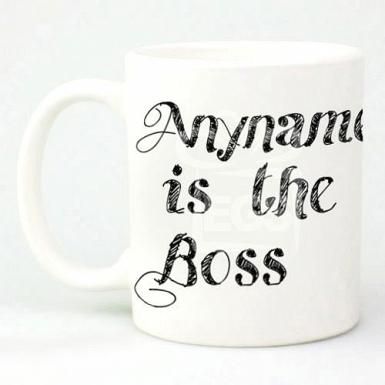 Boss - Personalised Mugs