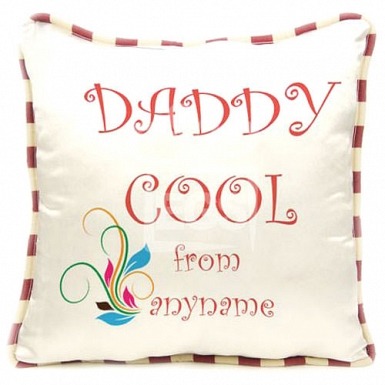 Daddy Cool - Personalised Cushion