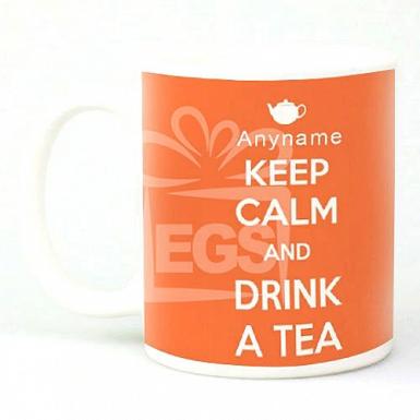 Keep Calm Drink Tea - Personalised Mugs