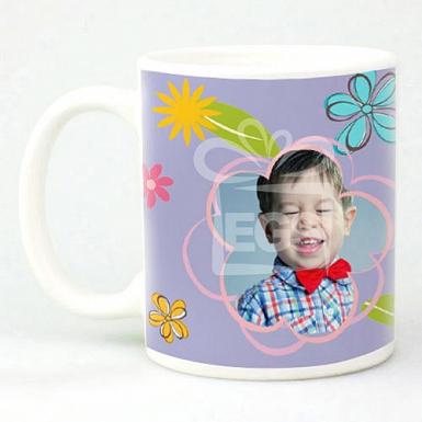 Daisy Flowers - Personalised Mugs