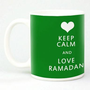 Keep Calm and Love Ramadan Mug