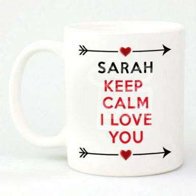 I Love You Mug - Personalised Mugs