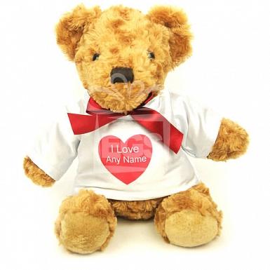 Customized Love you Teddy Bear