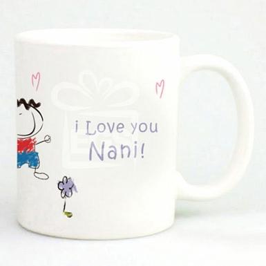 I Love You Nani - Personalised Mugs