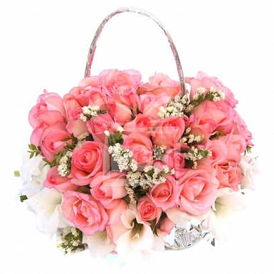 Flowers by post white next day delivery expressgiftservice pink dream land mightylinksfo