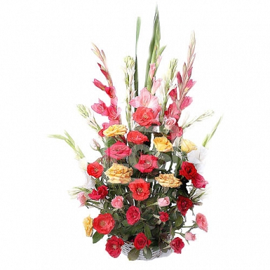 Roses and Flowers Arrangement