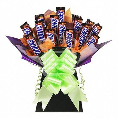 24 Snicker Bouquet