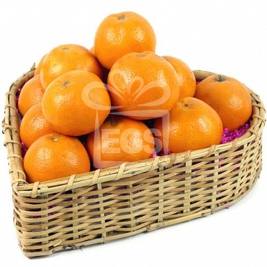 Exotic Oranges Basket