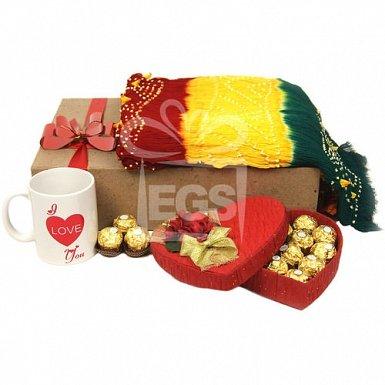 Romantic Chunri suit and Chocolics