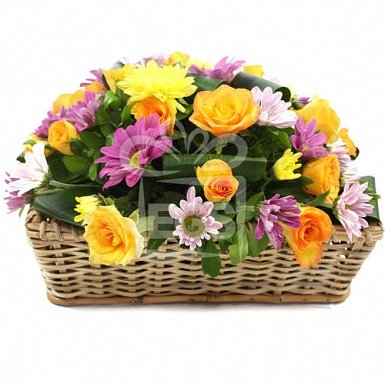 Sweet Rose Basket