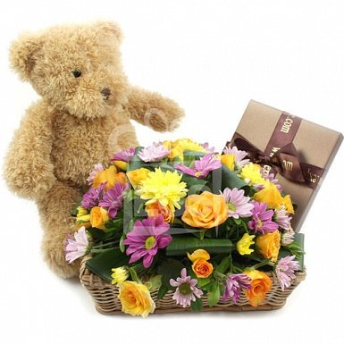 Triple Bounty Flower Gift