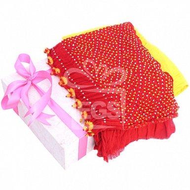 Valentine Chunri Suit Gift box