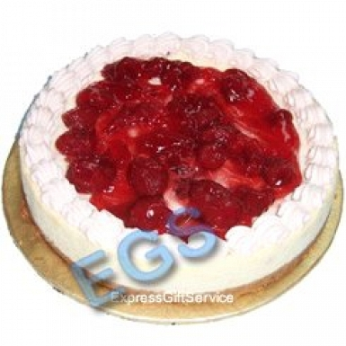 2lbs Hob Nob Strawberry Cheese Cake delivery to Pakistan