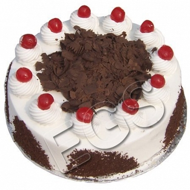 2lbs Designer Blackforest Cake From Serena Hotel delivery to Pakistan