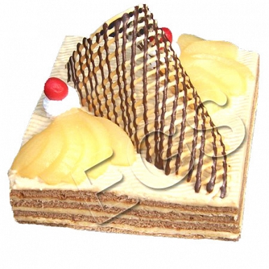 2lbs Designer Chocolate Coffee Opera cake from Serena Hotel delivery to Pakistan