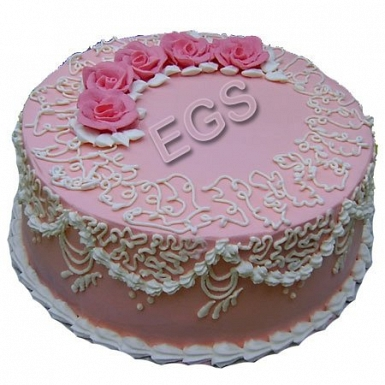 2lbs Pink Dairy Milk Cake delivery to Pakistan