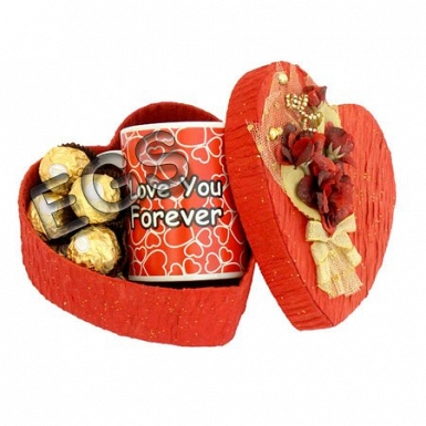 Ferrero Heart & Love You Mug delivery to Pakistan