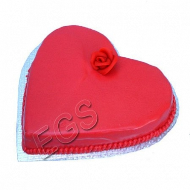 3lbs Heart Shape Cake From Tehzeeb Bakers delivery to Pakistan