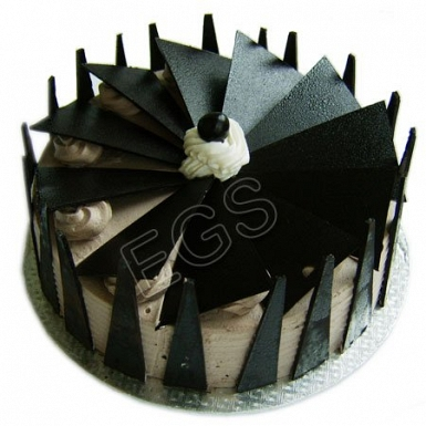 Chocolate Fan Cake From Pearl Continental Hotel delivery to Pakistan