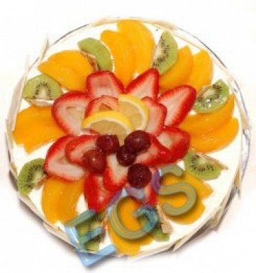 Fruit Gateau Cake from Holiday Inn hotel delivery to Pakistan