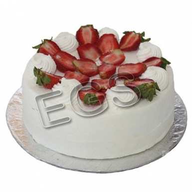 Fresh Strawberry Cream Cake from Pear Continental Hotel delivery to Pakistan