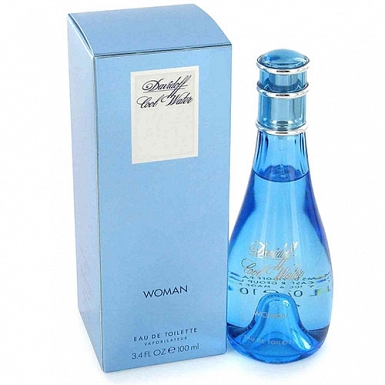 Davidoff Cool Water Eau De Toilette Spray 100ml - Davidoff Women Perfume