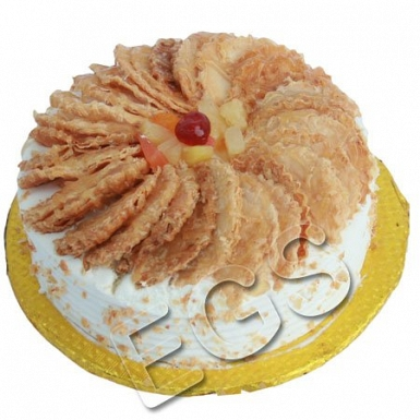 2lbs Hob Nob Vanilla Wafers Cake delivery to Pakistan