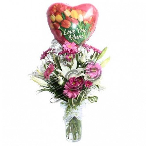 Love you mum special gift delivery to Pakistan